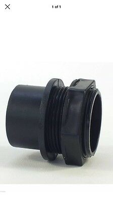 "2"" Inch (56mm) Kockney Koi Fish Pond Threaded Tank Connector - KK258"