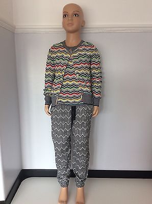 Missoni 3 Piece Outfit Cardigan, Trousers, Top Knit Vgc Age 8-9 Years Girls
