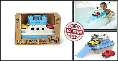 Bath Toys For Boys Toddler Ferry Boat With Mini Cars Bathtub Water Play Time