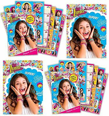 Disney Soy Luna 2 x Sickerheft mit 400 x Stickers Aufkleber Set