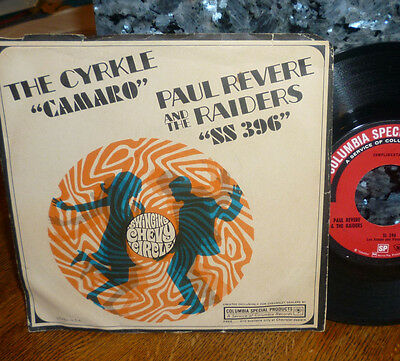 """*<* Rare Paul Revere & The Raiders Promo-Only """"ss 396"""": Clean M- Gem 45/pic Slv!"""