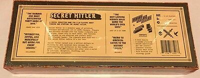 Secret Hitler Board Game Card Game Authentic Genuine Copy Brand New 5-10 players