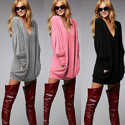 Fashion Women's Ladies Loose cotton Tops Long Sleeve Shirt Casual Blouse T Shirt