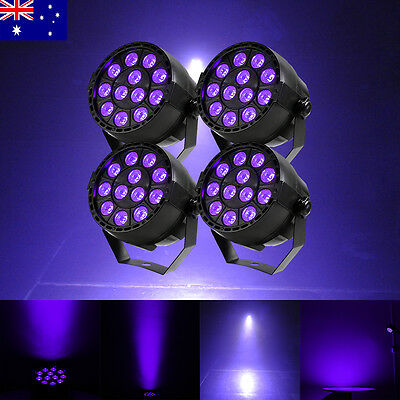 4Pcs Led UV Par Light 12x3w Led light 36W LED Purple Par Light Stage Lighting AU