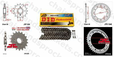 DID- X Ring Motorcycle Heavy Duty Kit fits Honda VFR800 F1 VTEC (ABS) 02-14