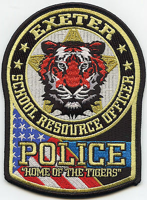 EXETER MISSOURI MO SCHOOL RESOURCE OFFICER SRO Home of The Tigers POLICE PATCH