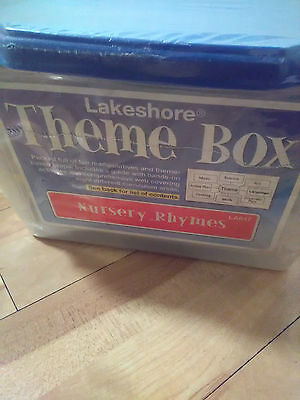 Lakeshore Learning Theme Box Nursery Rhymes New Young Children Fun Educational