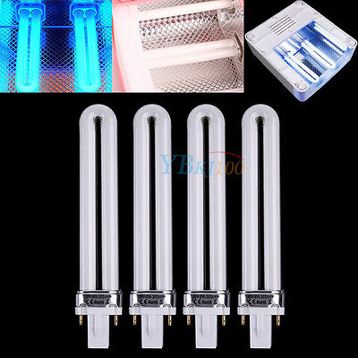 Useful 1/4 x 9W Nail UV Light Bulb Tube Replacement UV Curing Lamp Dryer Tool HB