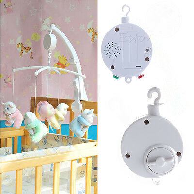 12/35 Songs Rotary Baby Mobile Crib Bed Toy Music Box Movement Bell Nursery New