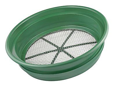 """13"""" Gold Panning 1/4"""" Classifier Screen for Nuggets Sleuce Dredge Mine Sluicing"""