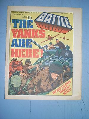 Battle Action issue dated January 13 1979