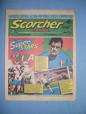 Scorcher and Score issue dated November 11 1972