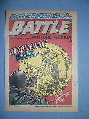 Battle Picture Weekly issue dated March 13 1976