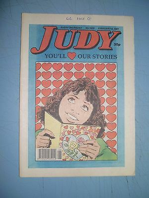 Judy issue 1622 dated February 9 1991