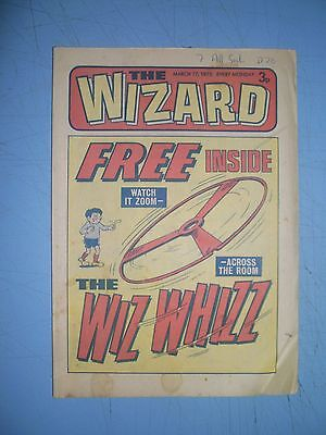 Wizard issue dated March 17 1973