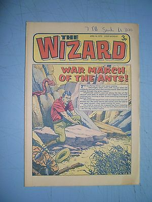 Wizard issue dated April 14 1973