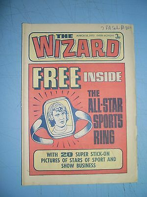 Wizard issue dated March 10 1973