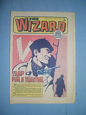 Wizard issue dated July 28 1973