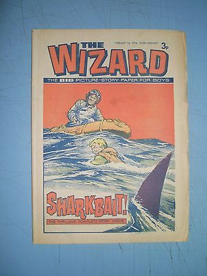 Wizard issue dated February 16 1974