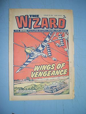 Wizard issue dated February 23 1974