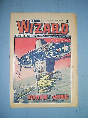 Wizard issue dated April 27 1974
