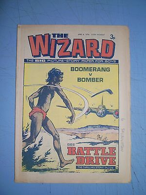 Wizard issue dated April 6 1974