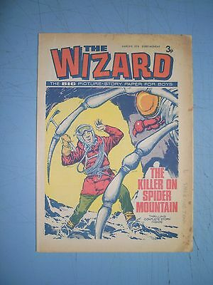 Wizard issue dated March 16 1974