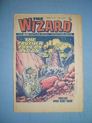 Wizard issue dated February 2 1974