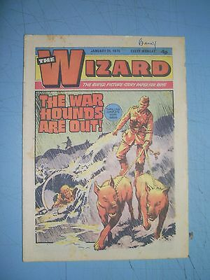 Wizard issue dated January 25 1975