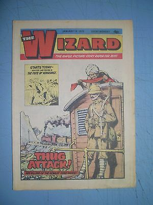 Wizard issue dated January 18 1975