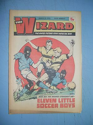 Wizard issue dated March 20 1976
