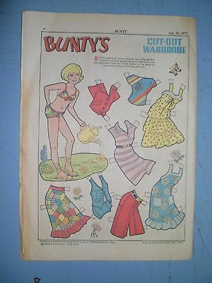 Bunty issue 1020 dated July 30 1977