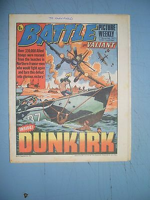 Battle Picture Weekly issue dated September 17 1977 Valiant