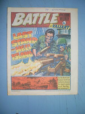 Battle Picture Weekly issue dated September 10 1977 Valiant