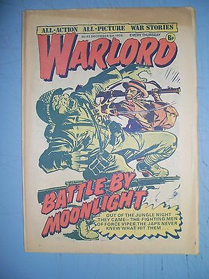 Warlord issue 63 dated December 6 1975