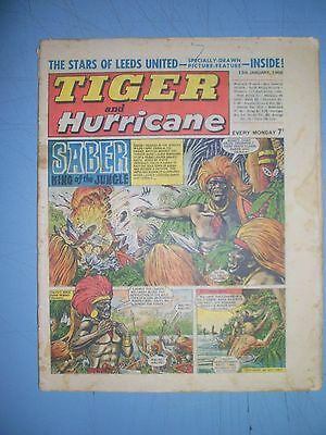 Tiger and Hurricane issue dated January 13 1968