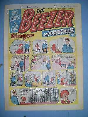 Beezer issue 1123 dated July 23 1977
