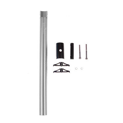 Aluminum Road Mountain Bike Bicycle Cycling Seatpost 27.2 x 350mm Silver