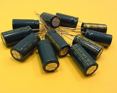 10V 3300uF Electrolytic Capacitors LOW ESR Genuine SANYO High Frequency