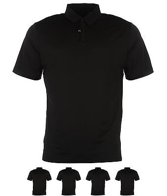 SPORTIVO adidas UV Elements Golf Polo Uomo Black