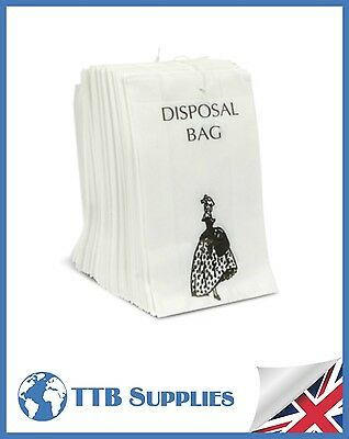 Paper Sanitary Disposal Bags x 1000 Workplace, Home, Office, Hotels, School