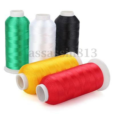 Cones Bobbin Embroidery Quilting Polyester Thread Line For Sewing Machine 5000M
