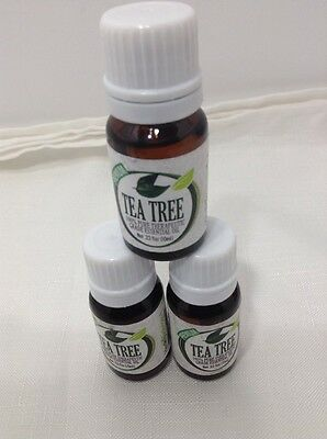 3 Pure Essential Tea Tree Oil Best Therapeutic Grade Natural Healing 100% pure
