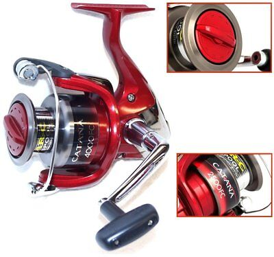Shimano Catana 4000 FC Spinning Rolle Frontbremse - absolut hochwertige Rolle!