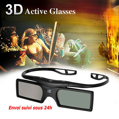 Lunettes 3D actives TV Samsung LG Sony Toshiba Panasonic Sharp Philips LED OLED