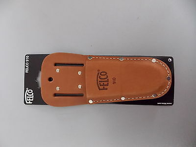 Felco 910 Quiver Case from genuine leather with belt clip for Felco Shear