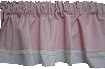 Baby Doll Bedding Classic Bows Valance, Pink
