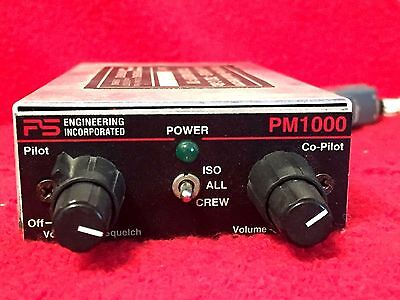 Ps Engineering Pm 1000 Panel Mount Intercom Horizontal With Connector