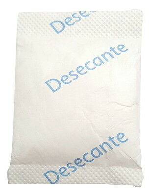 10 Gram Silica Gel Desiccant Packets - 100 Packs (FDA Approved Tyvek) CAMEN