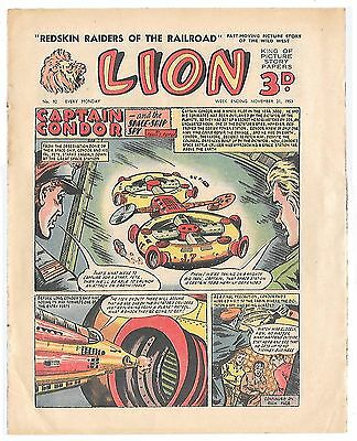 Lion 92 (21st Nov 1953, very high grade copy) Captain Condor by Frank Pepper